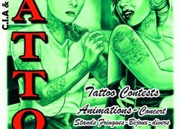 Convention Tattoo Auxerre (Appoigny) 2016 / 4 et 5 Juin 2016